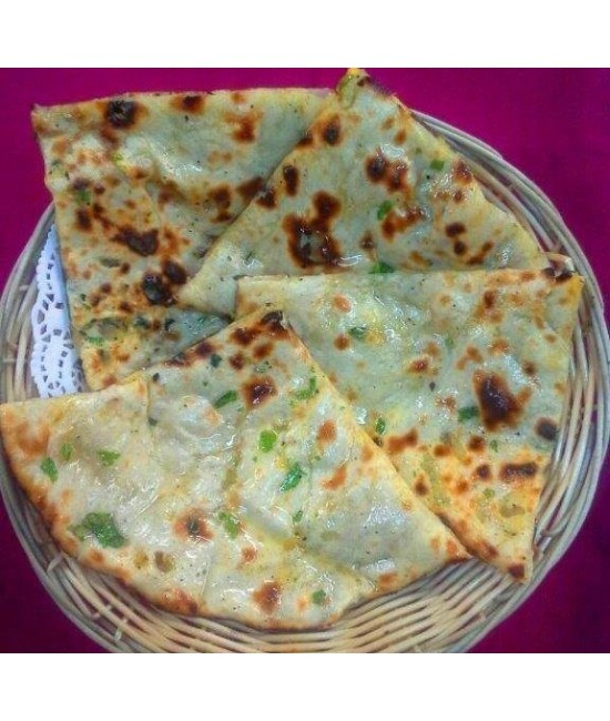 Onion Kulcha (VEGAN)