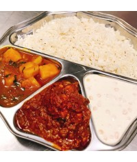 Thaali (Plate of Indian Food)